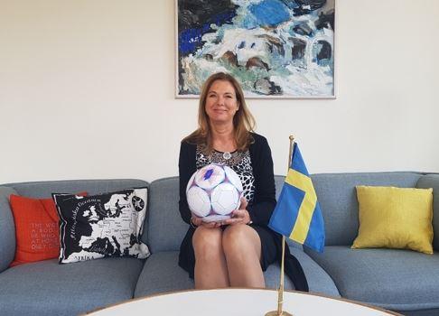 瑞典驻汉城大使表示,世界杯将成为两国之间更好理解的机会